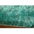 Luster Shag Rug in Teal