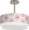 Luther Hanging Lamp in Bernice Pink