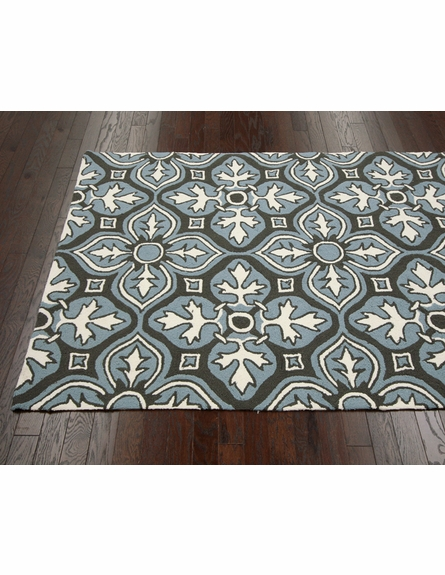Luther Indoor/Outdoor Rug in Chocolate