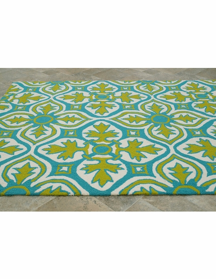 Luther Indoor/Outdoor Rug in Lime