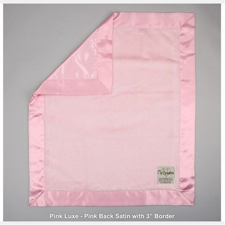 Luxe Baby Blanket with Satin Back