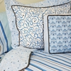 Luxe Blue Collection Standard Sham