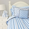 Luxe Blue Duvet Cover
