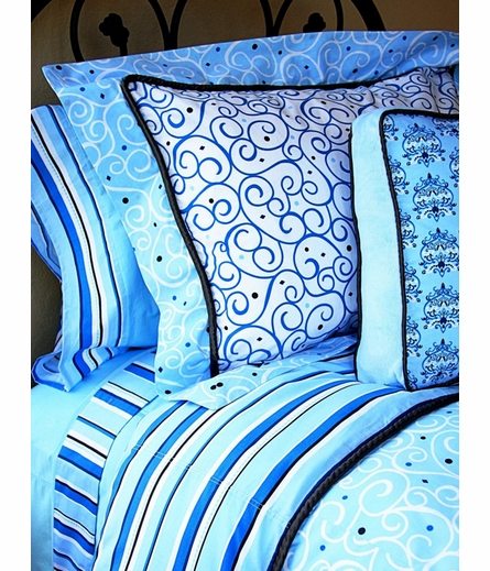 Luxe Blue Sheet Set