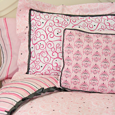 Luxe Pink Pillow Sham