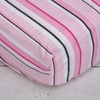 Luxe Pink Stripe Crib Sheet