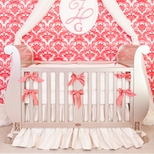 Luxury Girls Crib Bedding