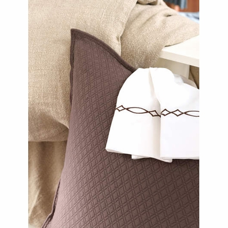 Lyall Chocolate Sheet Set