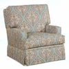 Lydia Upholstered Swivel Glider Chair