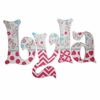 Lyla Whimsy Birds Hand Painted Wall Letters