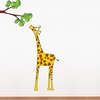 Madam Giraffe Wall Decal