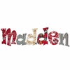 Madden's Pirates Hand Painted Wall Letters