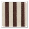 Maddie Boo Fabric - Chocolate Ticking