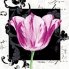 Magenta Tulip I Canvas Wall Art