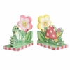Magic Garden Girls Bookends