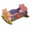 Magic Garden Girls Rocking Doll Bed
