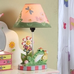 Magic Garden Girls Table Lamp