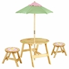 Magic Garden Indoor and Outdoor Table with 2 Chairs Set