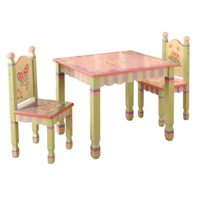 Magic Garden Table And Chair Set: Magic Garden Table With 2 Chairs Set