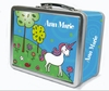 Magical Unicorn Personalized Lunch Box