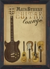 Main Street Guitar Lounge Framed Wall Art