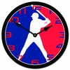 Major League Baseball Kids Wall Clock