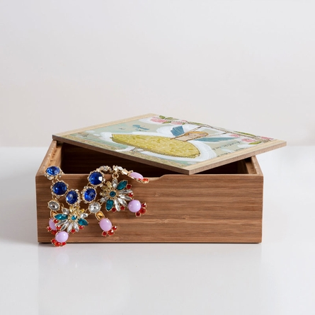 Make A Little Memory Jewelry Box
