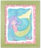 Mandi the Mermaid Canvas Reproduction