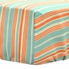 Mango Stripe Crib Sheet