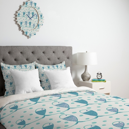 Mare Peces Luxe Duvet Cover