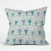Mare Peces Throw Pillow