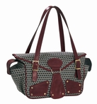 Maria Black Cherry Diaper Bag