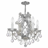 Maria Theresa Four Light Elements Crystal Chrome Mini Chandelier III