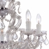 Maria Theresa Polished Gold Chrome Chandelier