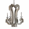 Mariana Chandelier In Weathered Silver