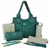 Marie Antoinette Diaper Bag - Emerald
