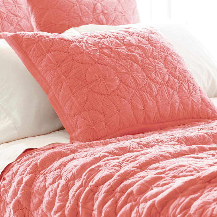Marina Coral Euro Sham By Pine Cone Hill Rosenberryrooms Com