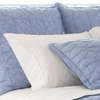 Marina French Blue Euro Sham