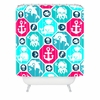 Marine Pattern Shower Curtain