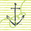 Maritime Anchor Canvas Wall Art