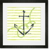 Maritime Anchor Framed Art Print