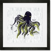 Maritime Octopus Framed Art Print