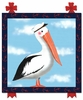 Maritime Pelican Canvas Reproduction