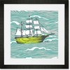 Maritime Ship Framed Art Print