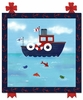 Maritime Tugboat Canvas Reproduction