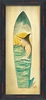 Marlin Surfboard Surfboard Black Framed Wall Art