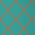 Marrakesh Honey Jade Removable Wallpaper