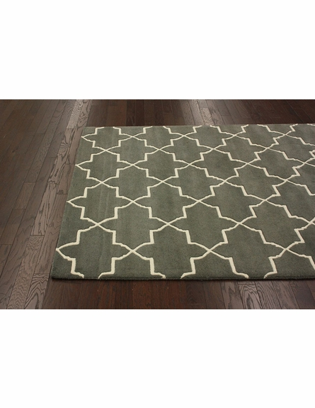 Marrakesh Trellis Rug in Nickel