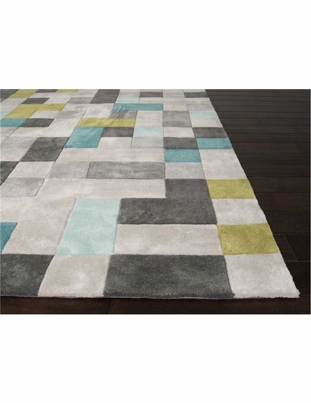 Mason Blocks Rug in Classic Gray