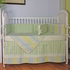 Master Blue Crib Bedding Set